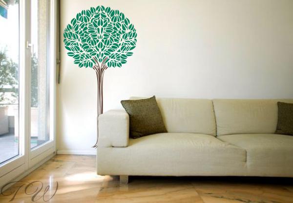 Wandtattoo Baum ergänzen sie Ihre Pflanzen mit diesem Baum